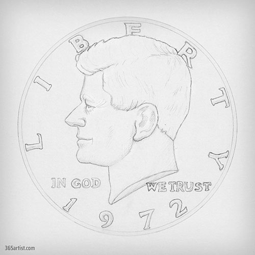 half dollar drawing